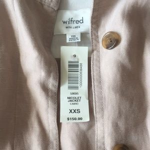 Aritzia Tops - Wilfred Free Nicolet Jacket NWT